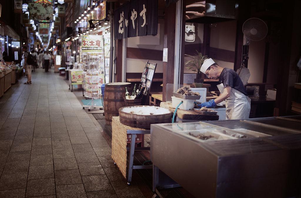 Le marché de Nishiki