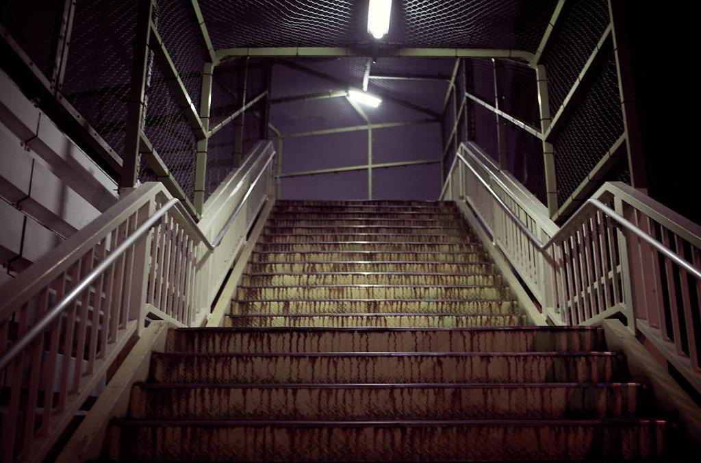 Les escaliers d'Osaka