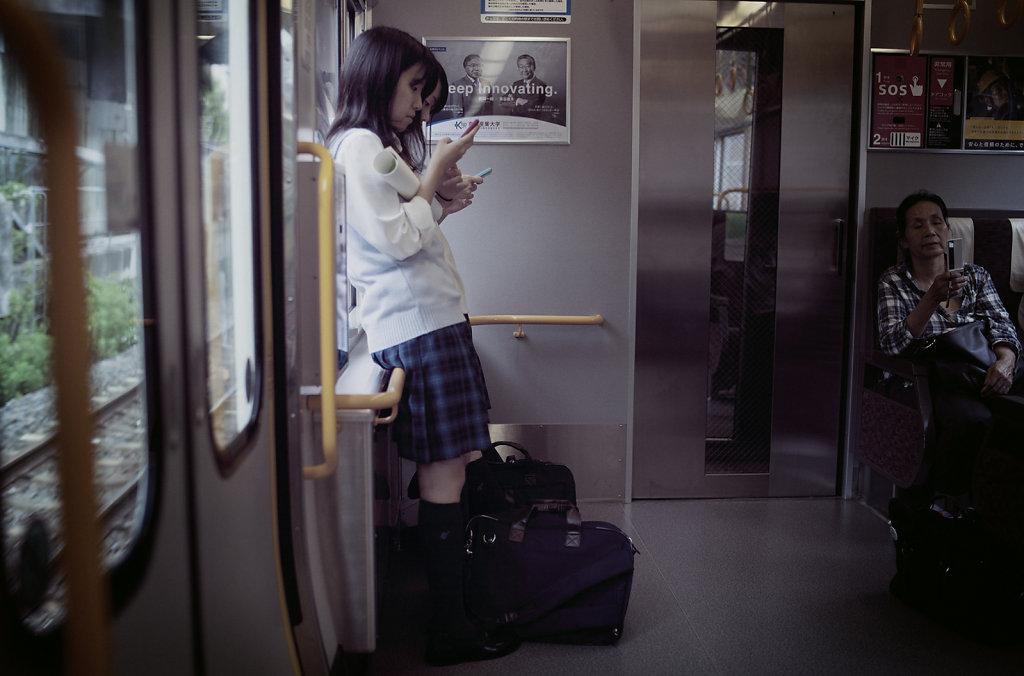 Les filles du train - Japon