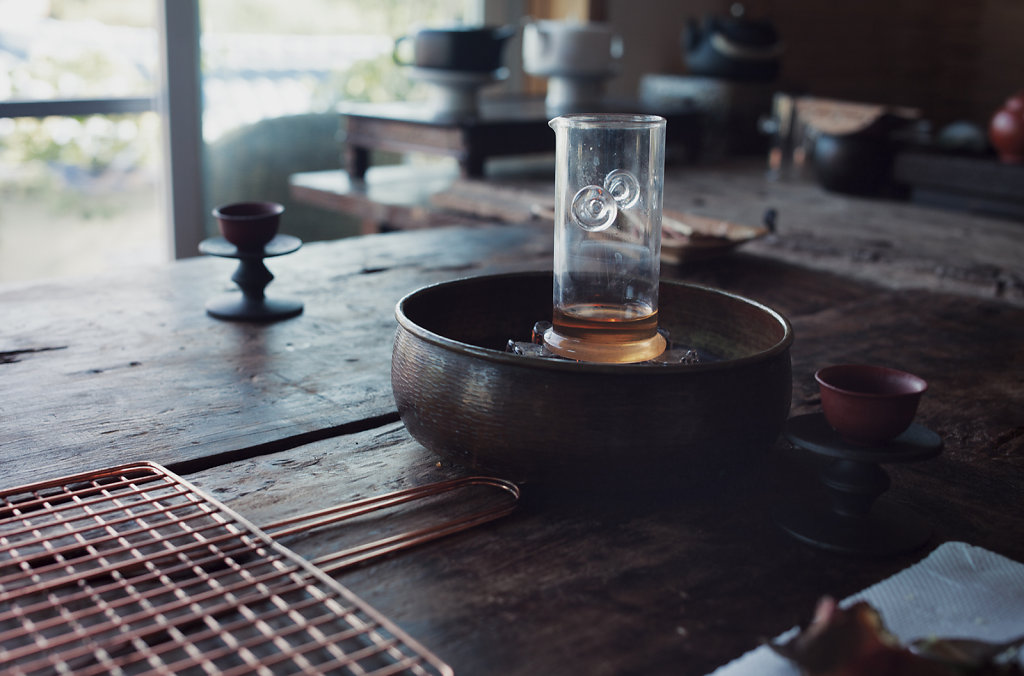 La maison de thé