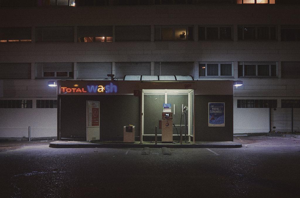 La station service du 19ème