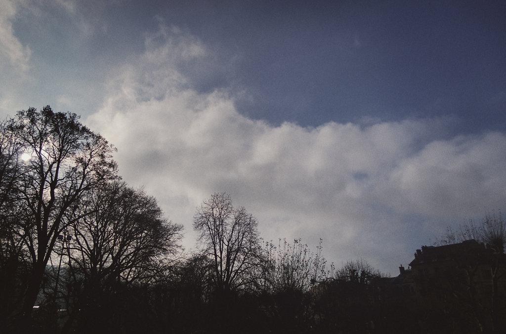 Le ciel d'Aix-les-Bains