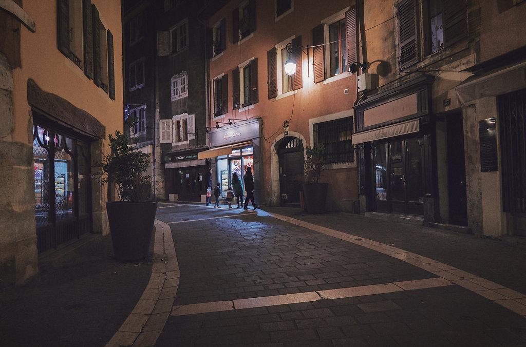 Dans les rues d'Annecy