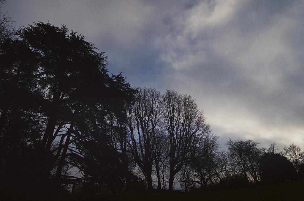 Le ciel au Parc des Buttes Chaumont